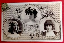 CPA. ARTISTES. ROBINNE. SAULIER. MARVILLE. STAR. Photo d'Art REUTLINGER. 1907.