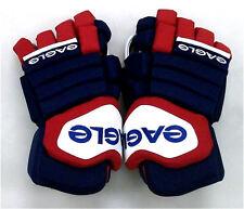 """New Eagle Talon 90 Pro senior ice hockey gloves sr. 14"""" glove Red Navy White"""