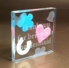 Spaceform (Thank You For Being Our Bridesmaid) Wedding Gifts Idea 1154