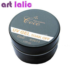 Soak Off UV Builder Gel Nail Art Tips Gel Nail Manicure CLEAR Color GDCOCO