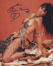 CAROLINE MUNRO SIGNED 007 JAMES BOND 8x10 PHOTOGRAPH 4 - UACC & AFTAL AUTOGRAPH