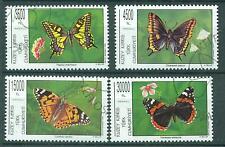 Turco-chipre 1995 michelnr. 402 - 405 con sello FDC.