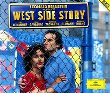 Bernstein: West Side Story & Symphonic Suite from On the Waterfront 2 CD set DG