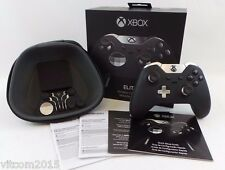 Black Microsoft Xbox Elite Wireless Controller for Xbox One Model 1698 #Bl1C3