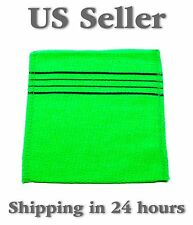 Original Italy Towel - Korean Exfoliating Washcloth - Green / 1 piece