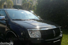 Black Car Lashes (R) Headlight Eyelashes Accessories 3M Sticker for Lincoln