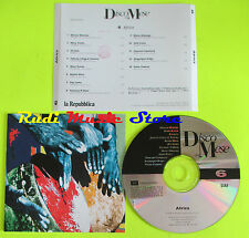 CD AFRICA il disco del mese 6 1995 promo MORY KANTE YOUSSOU N DOUR(C9*)lp mc dvd