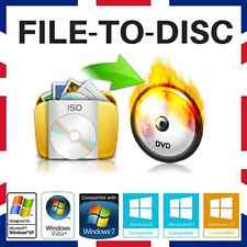 MOVIE/FILE/PHOTO/VIDEO/AUDIO/BACK-UP BURNING SOFTWARE -  NERO ROXIO ALTERNATIVE