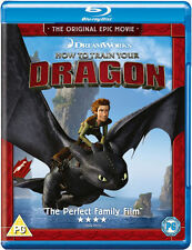 HOW TO TRAIN YOUR DRAGON*****BLU-RAY*****REGION B*****NEW & SEALED