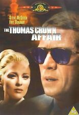 The Thomas Crown Affair (2000) Steve McQueen, Faye Dunaway NEW SEALED UK R2 DVD