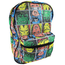 The Avengers 16 Inch Mesh Backpack MO27981SCGR
