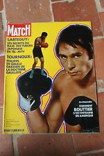 PARIS MATCH 1206 17.06.1972 BOXE BOUTTIER MONZON RAQUEL WELCH GUY LUX