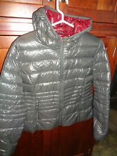Halifax Traders Packable Down Jacket in Gunmetal SIZE; XL NWOT