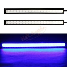 2 x Car COB LED DRL Daylight Driving Daytime Running Light Waterproof DRL Lamp