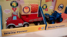 Bob The Builder Lot of 4 Talking Packer, Benny, Scrambler and Muck NIP LC