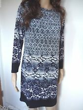 New Michael Kors dress multi color cream snake pattern polyester spandex L
