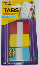 686-RYB 3M Post it Index Flags 25mm Strong 66 Tabs 3 - 686-RYB Office & Station