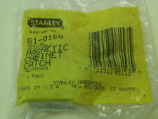 STANLEY 81-0160 New  Magnetic Cabinet Catch (Aluminum Steel/Aluminum Finish)