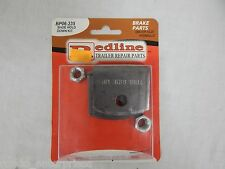"Redline Trailer Parts PRO BP06-235 shoe hold down kit dexter 12.25"" hydraulic"