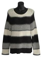 Alice + Olivia Chunky Knit Loose Fit Baby alpaca Wool Sweater sz m medium