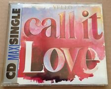Yello - Call It Love 3 Track German Maxi Cd Single Rare! 1987