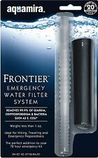 Aquamira Frontier Emergency Water Filtration System Camping, Survival Scout 9419