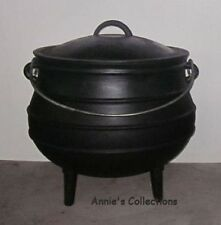 Cast Iron Cauldron Potjie Pot Sz 4 Outdoor Survival Gypsy Kettle Rituals