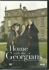 AT HOME WITH THE GEORGIANS DVD COMPLETE SERIES AS SEEN ON BBC