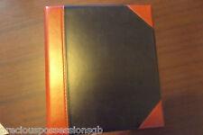 Sello Rojo y Negro Álbum de historia de la segunda guerra mundial 4 Anillo no páginas Excelente Estado