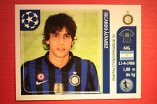 PANINI CHAMPIONS LEAGUE 2011/12 N 86 ALVAREZ INTER WITH BLACK BACK MINT!!