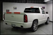 FOR GMC/CHEVY SILVERADO Tailgate Custom Style Rear Spoiler Wing 1999-2006