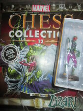 Marvel Chess Collection Issue 12 MAGAZINE & LIZARD figurine The black pawn BNIP