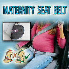 PREGNANCY MATERNITY SEAT BELT DRIVING SAFETY BABY SUPPORT BELLY BAND Pink