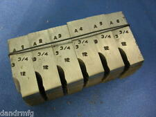 "GEOMETRIC DIEHEAD CHASERS 3-3/4""-12 DIE HEAD CHASER FOR CNC LATHE MACHINE SHOP"