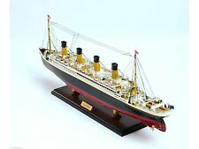 RMS Titanic Scale 1:350 - Handmade Wooden Cruise Ship Model