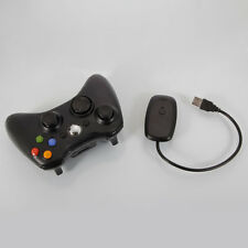 Wireless Controller for Microsoft XBox 360 XBox360 Black + Receiver
