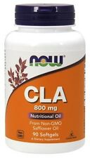 Now Foods CLA (Conjugated Linoleic Acid) 800 mg - 90 Softgels