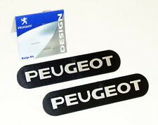 Peugeot 106 Mud Flap Badges (x2) XS XSi RALLYE GTi QUIKSILVER S16 - Genuine Part