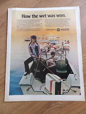 1971 Chrysler Boats Ad   How the Wet was Won