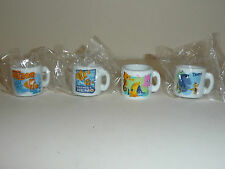 Collectible Disney Pixar Finding Nemo Ceramic Mini Mugs
