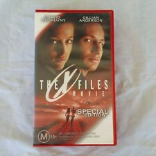 The X Files Movie Special Edition VHS Video Tape SCI FI Classic