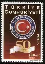 TURKEY MNH 2011 The 50th Anniversary of the Establishment of the State Personnel