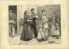 1873 Bringing Home The Sunday Dinner Crusade Against Sunday Trading