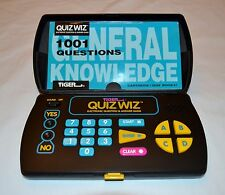 Tiger Quiz Wiz Electronic Question & Answer Game With 1 Book & Cartridge *Works*