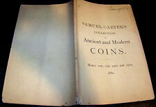 Vtg 1880 Old 19th Century Antique BANGS Coin Catalog Ancient Pattern Medal 1800s