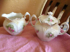 Genuine RS Prussia Mark, Cream and Sugar Set, most likely early 1900's