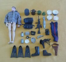 Lot Vintage Gi Joe 12 inch Hasbro Articulated Action Figure Accessories