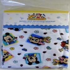 Disney Babies Mickey Mouse Jersey Knit Receiving Blanket 100% Cotton MYTODDLER