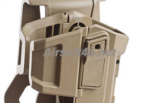 """""""New"""" Tactical Universal Glock With Any flashlight Holster in Tan for Marui/WE"""