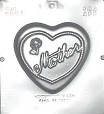 LARGE HEART SHAPED MOTHER CHOCOLATE MOULD 1 CAVITY